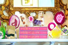 Mecox loves brightly hued agate #accessories