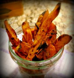 A Healthy Sweet Potato French Fry Recipe makes you forget all about those other French fries.