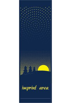 Starry Night - Stock banner 13108 Screen print outdoor fabric banners by Consort Display Group. #screenprint
