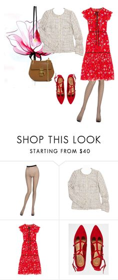 """Jacket 4"" by lailamur on Polyvore featuring мода, Lancôme, La Perla, Chanel, Markus Lupfer, Truffle и Chloé"