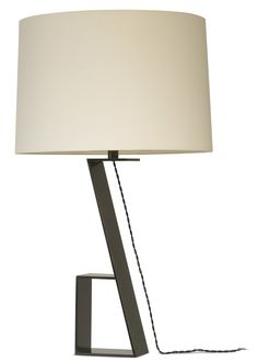 Finn Table Lamp (#T6021) by Therien   Table Lamps   Dessin Fournir Companies