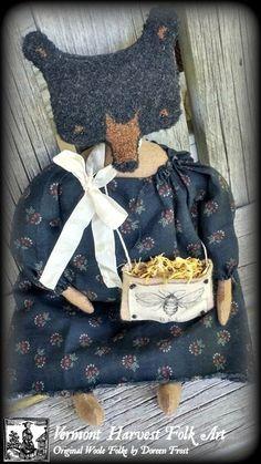 Ms. Martha Ballard  ~ #01 ~ Woole Worked Folke