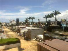 Ilhéus - O cemitério.
