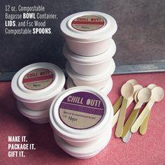 DIY // Ice Cream Packaging
