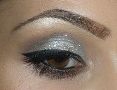 Black And Silver Eyeshadow Tutorial Silver eyeshadow is by far a