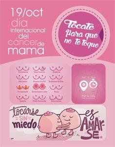 Mes Rosa!   Día Internacional contra el Cancer de Mama
