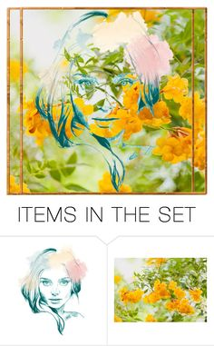 """""""#Etsy"""" by stylepetronio ❤ liked on Polyvore featuring art"""