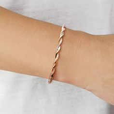Carly Brooke Twisted Cuff