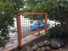 Wood And Hogwire Trellis In Santa Cruz Yelp In 2020 Garage Trellis Garden Solutions Trellis