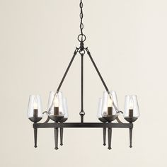 Found it at AllModern - Rock Springs 6 Light Candle Chandelier