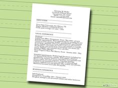 How to Make a Resume (with Free Sample Resumes) - wikiHow