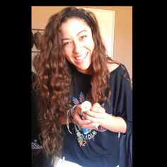 #longhair #babychick #curls