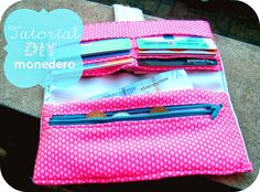 los tutoriales de artbril: MIS Tutoriales- DIY  Tutorial DIY monedero - Cartera