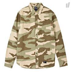 Stussy U.S. Camo Shirt