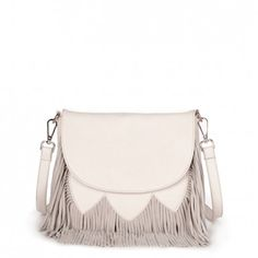 Kerry - Crossbody, crossbody, messenger, Messenger | Love this bag for Spring and Summer | Love the fringe! Cute!