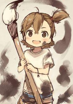 Naru (by kyuri) | Barakamon #anime