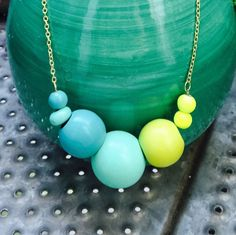 A personal favorite from my Etsy shop https://www.etsy.com/listing/242818833/bright-bold-turquoise-teal-and-neon