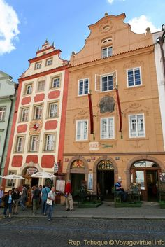 "The House ""At the Cancer"" at Malá Strana (Lesser Town) in Prague, Czechia  #Prague #Czechia #houses"