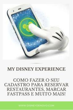 Veja Como se cadastrar no My Disney Experience Disney Dream, Disney Fun, Disney Em Paris, Disneyland, Disney Parque, Miami Orlando, Orlando Travel, Universal Orlando, Epcot