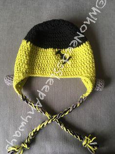 Crochet Frankenstein Hat Perfect for by WhoNeedsSleepAnyways