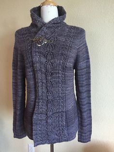 Ravelry: Coal Creek Trail pattern by Amanda Woeger, also with pockets  Promotion Code COAL  For Pattern Price of $2.99, valid until end of day, January 19 (MST)