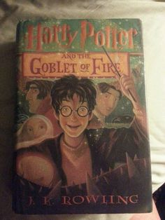 Harry Potter and the Goblet of Fire Year 4 by J. K. Rowling (2000, Hardcover)