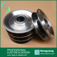 thermal spray coating wire pulley