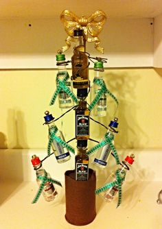 DIY Yankee Swap gift $15 limit Nip-Christmas Tree!