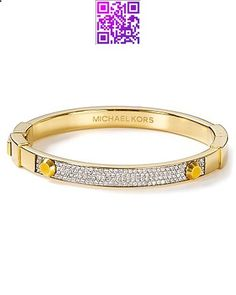 Michael Kors Crystal Bangle - All Jewelry - Jewelry - Jewelry  Accessories - Bloomingdales