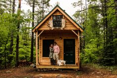 Perfect sized cabin. Small and cosy but everything you need.