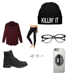 Dance instructor by shaniamelville-1 on Polyvore featuring LE3NO, Timberland and Lipsy