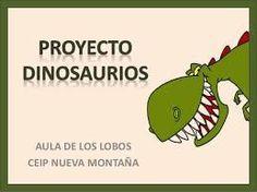 Resultado de imagen de proyecto los dinosaurios educacion infantil