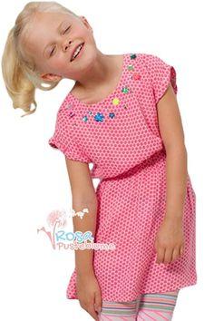 Mim-Pi Kleid dots - pink