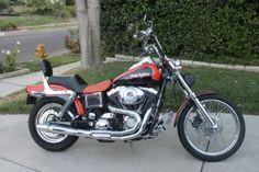 2001 Harley-Davidson FXDWG Standard , Orange and Black, 14,800 miles for sale in west hills, CA