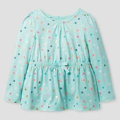 Toddler Girls' T-Shirt Cat & Jack™ - Crystalized Green : Target