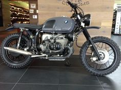 BMW R100 RS Grey Hound by VTR Custom