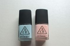 REVIEW : 3CE Nail Lacquers