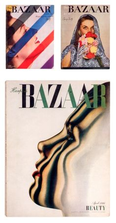 When Diana worked for Harpers Bazaar mag