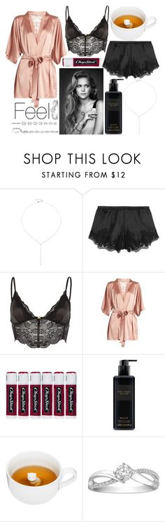 """""""Feel"""" by leonorgomes on Polyvore featuring AS29, Dolce&Gabbana, River Island, Fleur of England, Chapstick, Victoria's Secret, Sagaform and Blue Nile"""