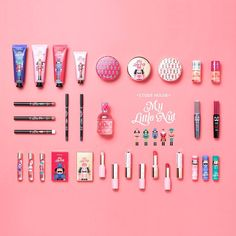 """Cute adults come true with """"Etude House"""" ♡ 5 popular ability cosmetics - Life and personal care Claire's Makeup, Girls Makeup, Etude House, Anime Girl Pink, Makeup Package, Cosmetic Design, Cosmetic Packaging, Makeup Designs, Branding"""