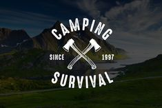 Adventure Logo & Badge with vintage style. Best for your Club. Ready for Print 100% Vector.
