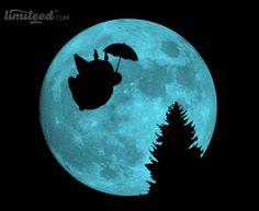 Flying Under the Moon by ddjvigo