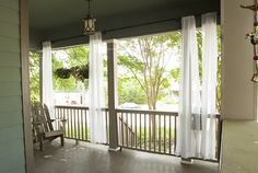 One Important Tip for Hanging Outdoor Curtains