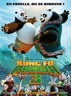 Kung Fu Panda 3 Jennifer Yuh & Alessandro Carloni Date de sortie: 30 mars 2016 Durée: 1h 35min De: Jennifer Yuh, Alessandro Carloni Avec: Manu Payet, Pierre Arditi, Alison Wheeler… Genres:…