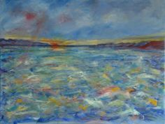 'Seascape 2' by Cathy T is for sale on ADO http://artdiscoveredonline.co.uk/art-gallery/seascape-2/