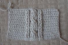 How to crochet cables ✿╮Teresa Restegui http://www.pinterest.com/teretegui/✿╮
