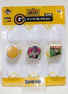 Dragon Ball Z Select Machines Prize G Pins Banpresto 1 JAPAN ANIME MANGA #Banpresto