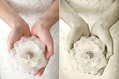 hair flowers, vintage wedding