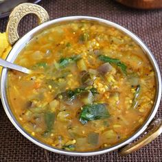 Kathirikkai Gotsu A classic South Indian gravy made with egg plant and lentils. Perfect as a side for Indian breakfast dishes like idli, dosa, pongal.