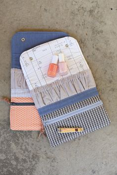 587aa57860 Love the mix of fabrics and the way the wallets are designed with their  pockets and